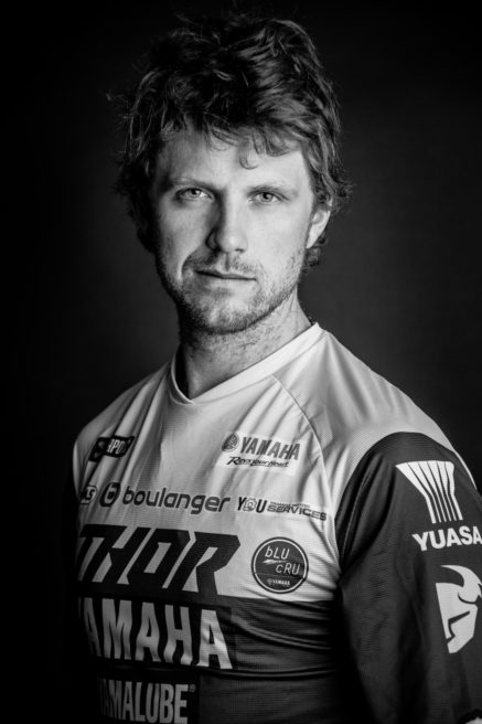 Adrien Van Beveren : Yahama official portrait for the Paris Dakar