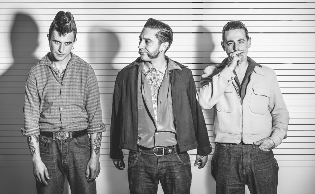 ::: The best french Rockabilly band rots my studio :::