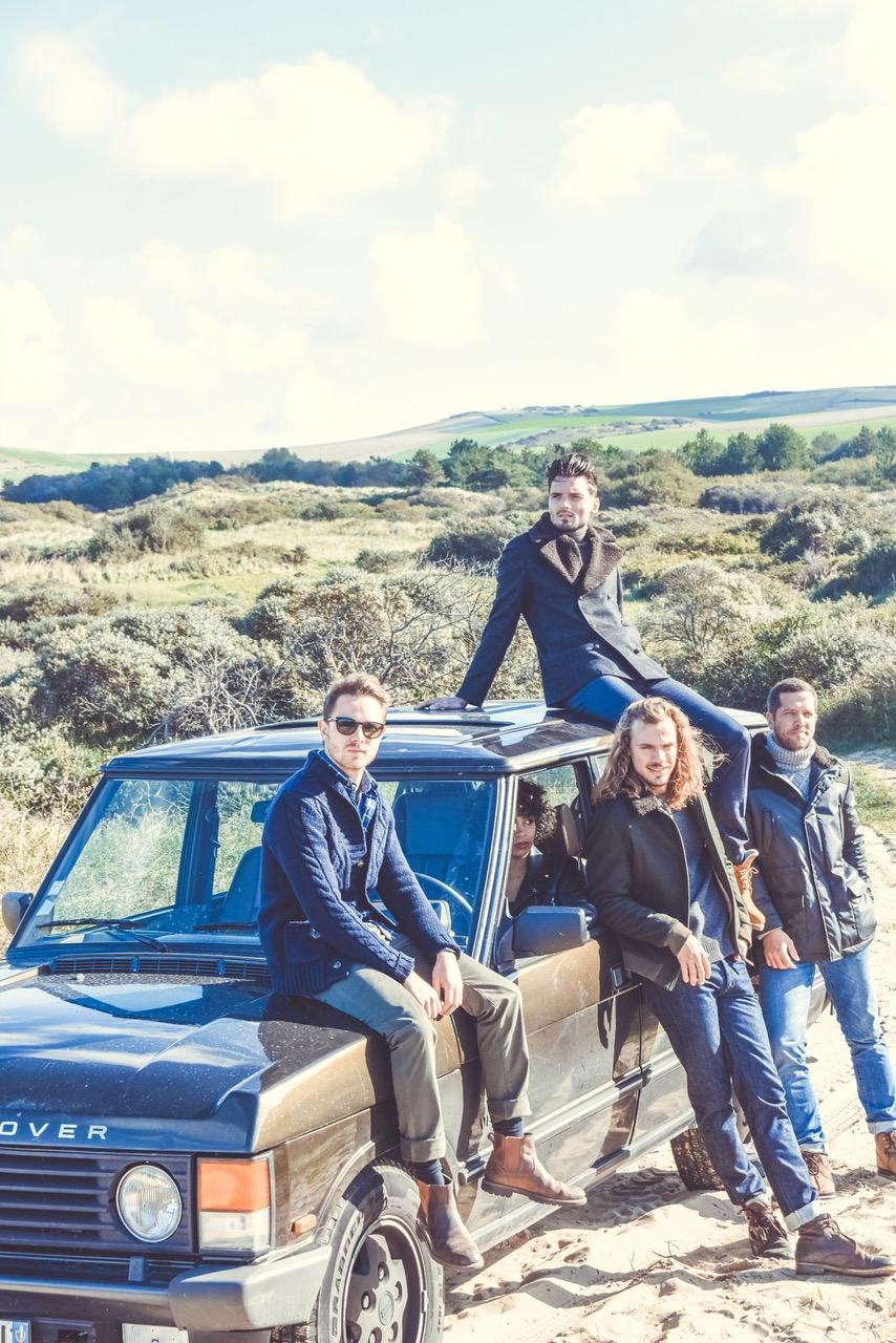 Land Rover et mode pour homme