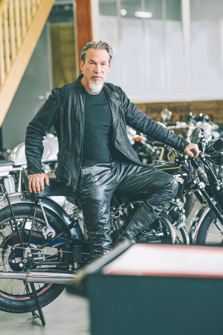 Florent Pagny motorcycle Heroes